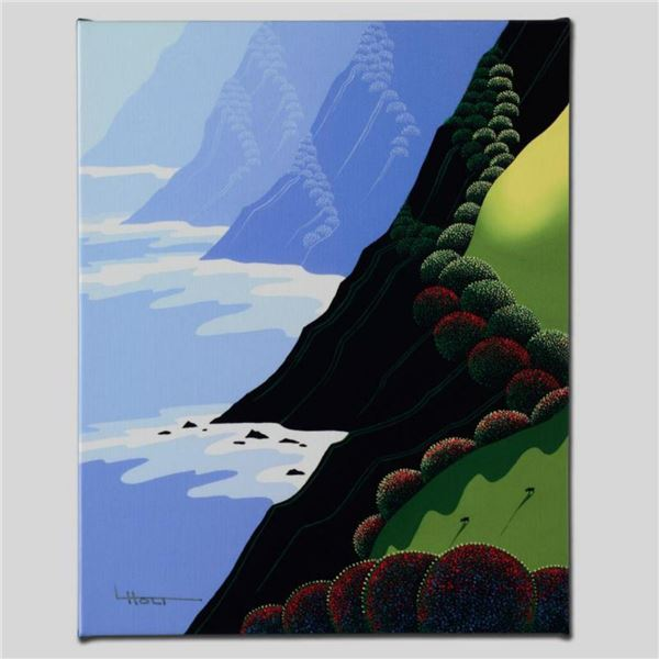 """""""Emerald Cliffs"""" Limited Edition Giclee on Canvas by Larissa Holt, Numbered and Signed. This piece c"""