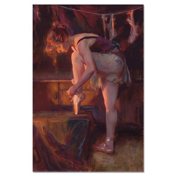 """Dan Gerhartz, """"The Audition"""" Limited Edition on Canvas, Numbered and Hand Signed with Letter of Auth"""