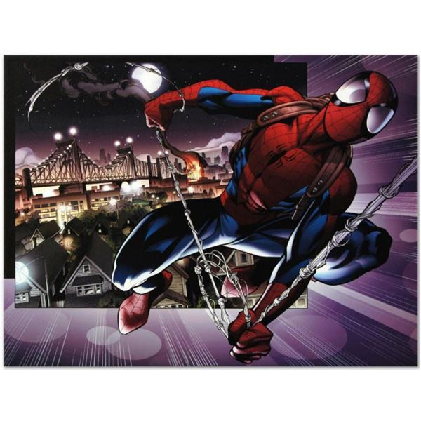 """Marvel Comics """"Ultimate Spider-Man #157"""" Numbered Limited Edition Giclee on Canvas by Mark Bagley wi"""