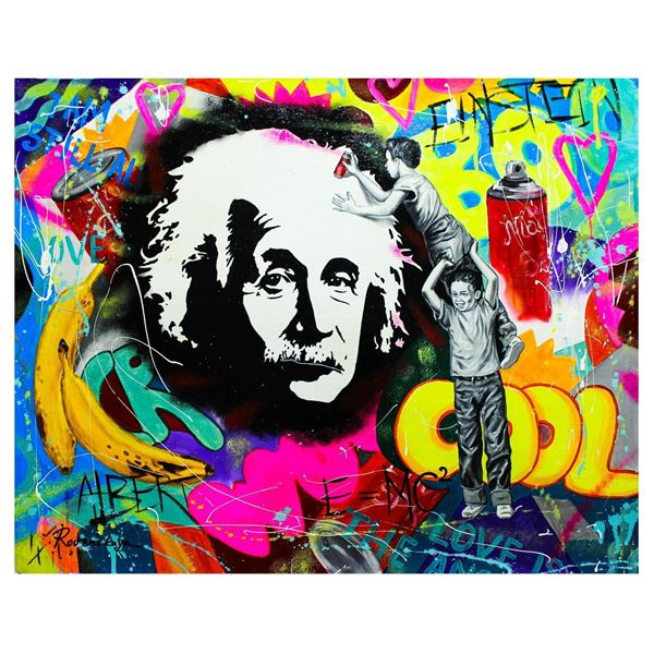 "Nastya Rovenskaya- Original Oil on Canvas ""The Genius"""
