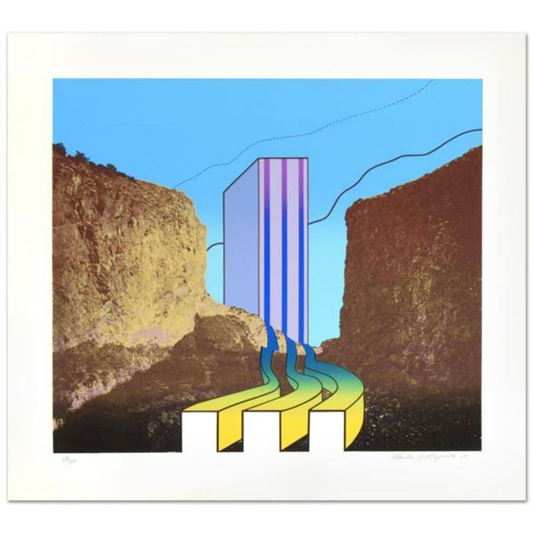 """""""Great American Canyon"""" Limited Edition Lithograph by Charles Magistro, Numbered and Hand Signed by"""