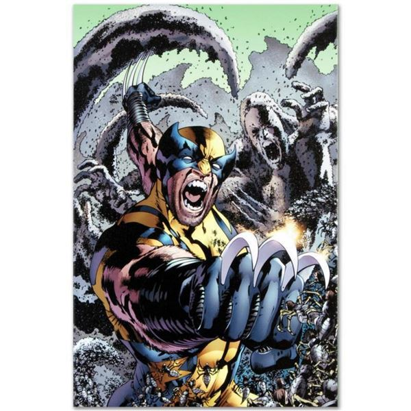 """Marvel Comics """"Wolverine: The Best There Is #10"""" Numbered Limited Edition Giclee on Canvas by Bryan"""