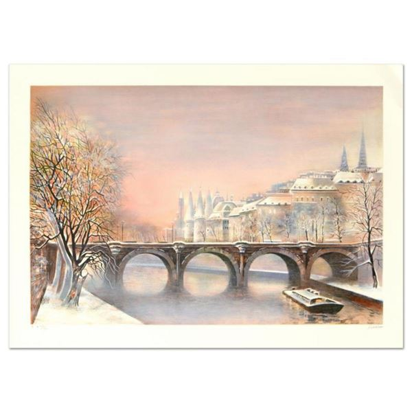 """Antonio Rivera, """"Conciergerie"""" Limited Edition Lithograph, Numbered and Hand Signed."""