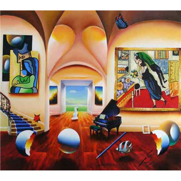"""Ferjo """"MASTERS MUSICAL BEGINNINGS"""" Giclee on Canvas"""