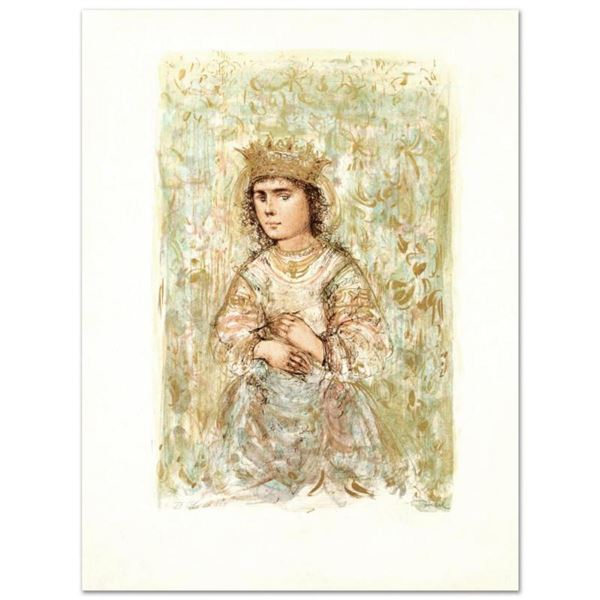 """""""Zorina"""" Limited Edition Lithograph by Edna Hibel, Numbered and Hand Signed with Certificate of Auth"""