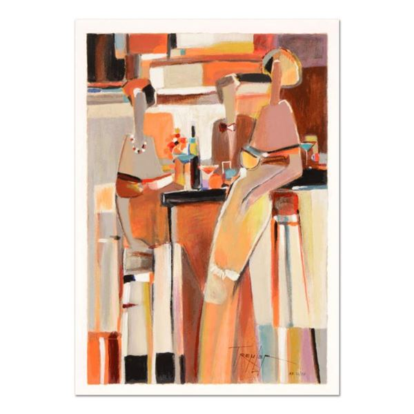 """Yuri Tremler, """"Untold Secret"""" Limited Edition Serigraph by Yuri Tremler, Hand Signed with Certificat"""