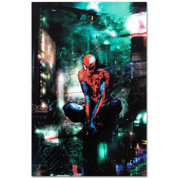 """Marvel Comics """"Timestorm"""" Numbered Limited Edition Giclee on Canvas by Christopher Shy with COA."""