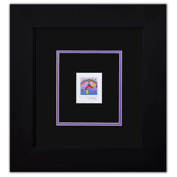 "Peter Max- Original Lithograph ""Cosmic Jumper Detail I (Mini)"""