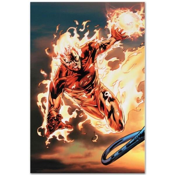 """Marvel Comics """"Ultimate Fantastic Four #54"""" Numbered Limited Edition Giclee on Canvas by Billy Tan w"""