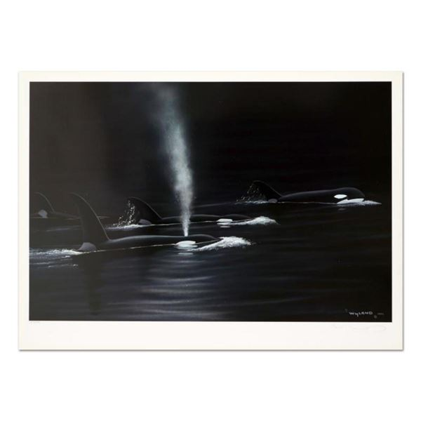 "Wyland, ""Ancient Orca Seas"" Limited Edition Lithograph, Numbered and Hand Signed with Certificate of"