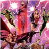 """Image 2 : DC Comics, """"Justice League #3"""" Numbered Limited Edition Giclee on Canvas by Tony S Daniel with COA."""