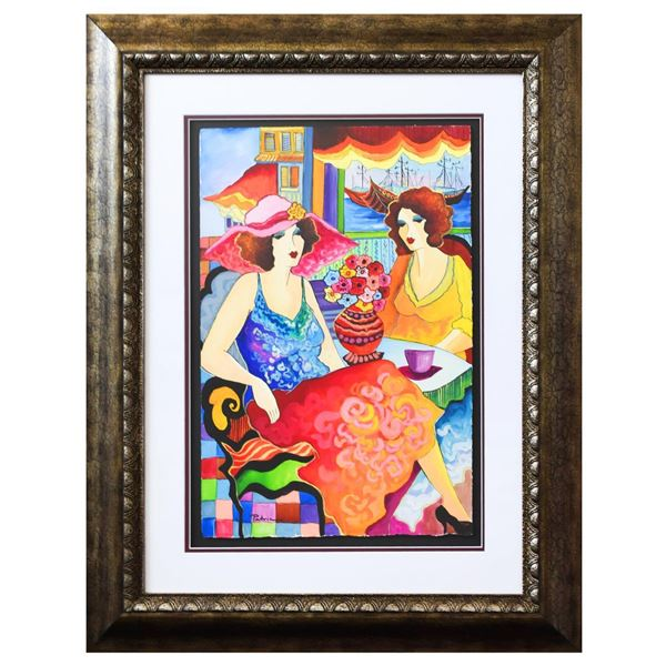 "Patricia Govezensky- Original Watercolor ""Naomi & Nechama"""