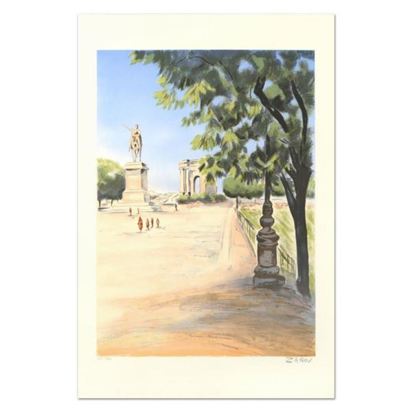 """Victor Zarou, """"Agay"""" Limited Edition Lithograph, Numbered and Hand Signed."""