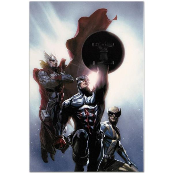 """Marvel Comics """"Secret Invasion #8"""" Numbered Limited Edition Giclee on Canvas by Gabriele Dell'Otto w"""
