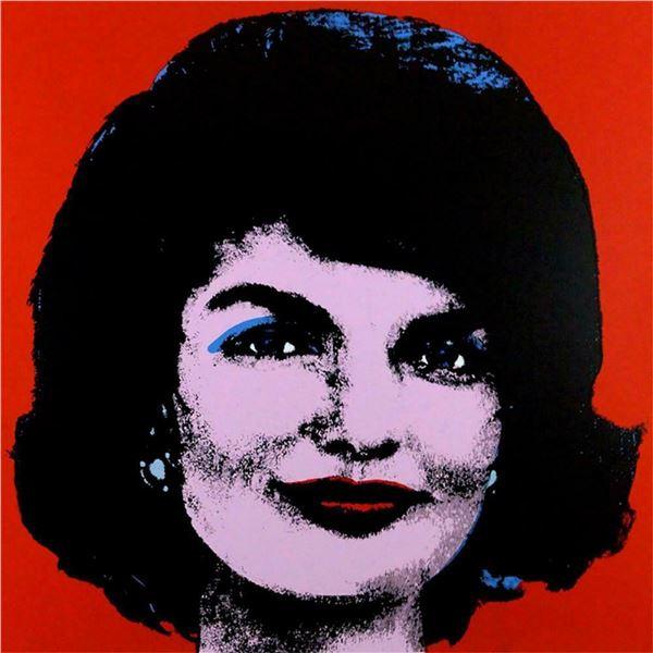"""Andy Warhol- Screenprint in colors """"Jackie"""""""