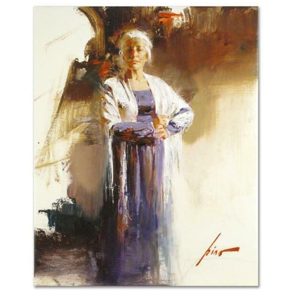 """Pino (1939-2010), """"The Matriarch"""" Artist Embellished Limited Edition on Canvas, AP Numbered and Hand"""