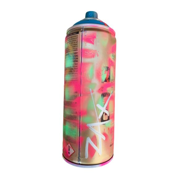"""E.M. Zax- HAND PAINTED ARTIST USED SPRAY CAN  """"SPRAY CAN"""""""
