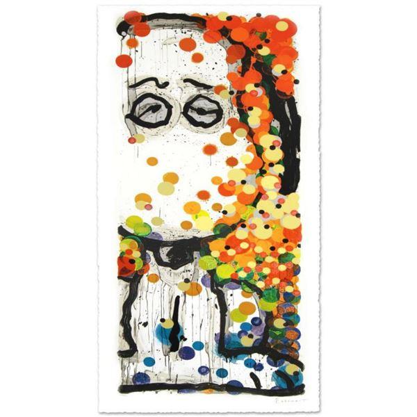 "Tom Everhart- Hand Pulled Original Lithograph ""Beauty Sleep"""