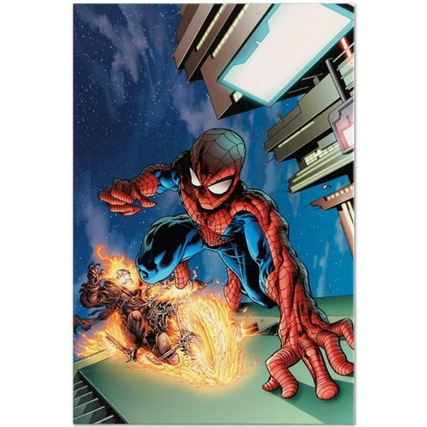 """Marvel Comics """"Timestorm 2009/2099 #4"""" Numbered Limited Edition Giclee on Canvas by Tom Raney with C"""