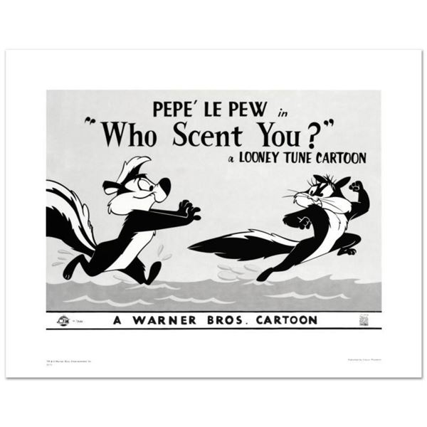 """""""Who Scent You"""" Limited Edition Giclee from Warner Bros., Numbered with Hologram Seal and Certificat"""