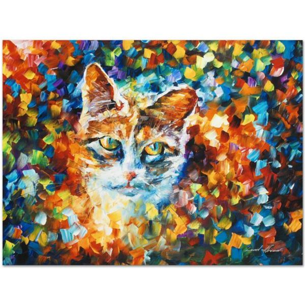 """Leonid Afremov (1955-2019) """"Bright Eyes"""" Limited Edition Giclee on Canvas, Numbered and Signed. This"""