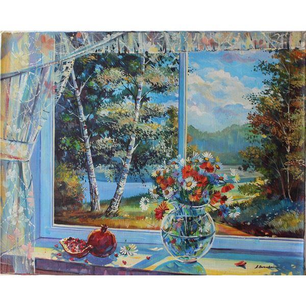 "Alexander Borewko- Original Oil on Canvas ""Sunny Day"""