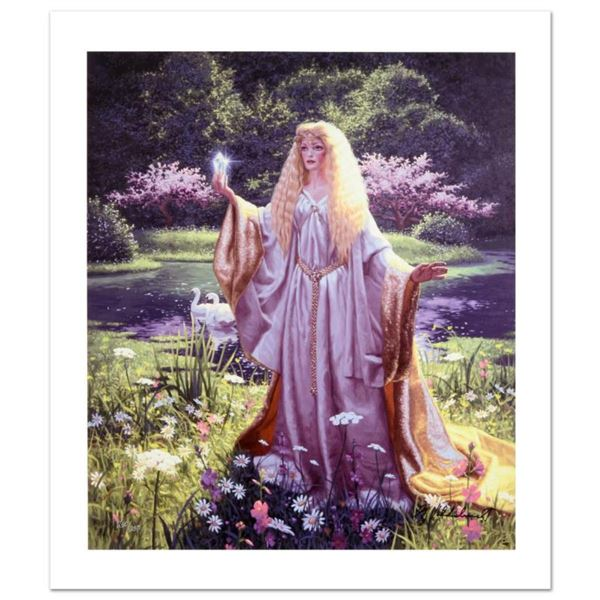 """""""The Gift Of Galadriel"""" Limited Edition Giclee on Canvas by Greg Hildebrandt. Numbered and Hand Sign"""