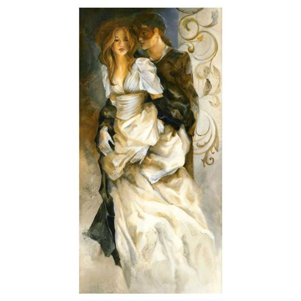 """Lena Sotskova, """"High Society"""" Hand Signed, Artist Embellished Limited Edition Giclee on Canvas with"""