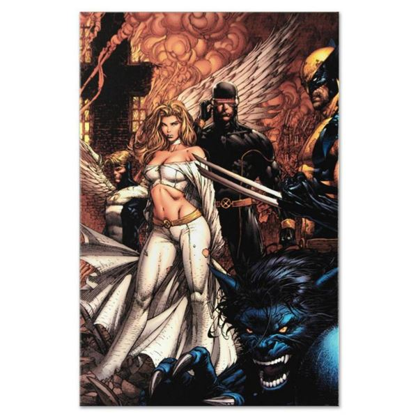 """Marvel Comics """"Uncanny X-Men #494"""" Numbered Limited Edition Giclee on Canvas by David Finch with COA"""