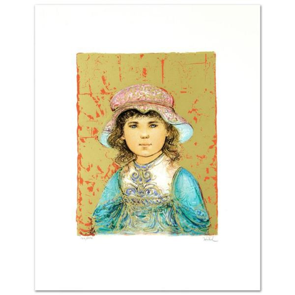 """""""Deidre"""" Limited Edition Lithograph by Edna Hibel (1917-2014), Numbered and Hand Signed with Certifi"""