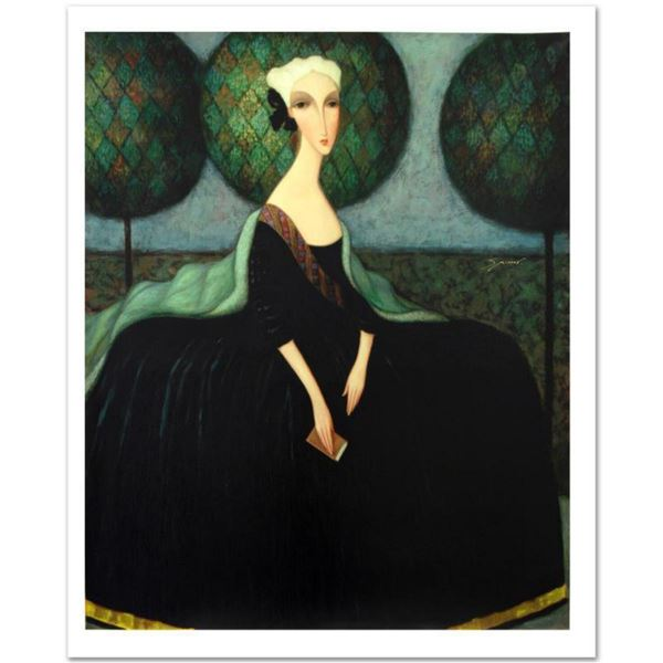 """Sergey Smirnov (1953-2006), """"Catherine The Great"""" Limited Edition Mixed Media on Canvas (32"""" x 40""""),"""