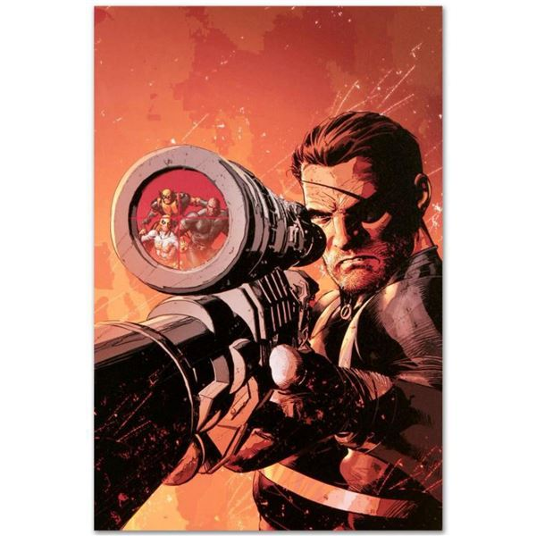 "Marvel Comics ""New Avengers #9"" Numbered Limited Edition Giclee on Canvas by Mike Deodato Jr. with C"