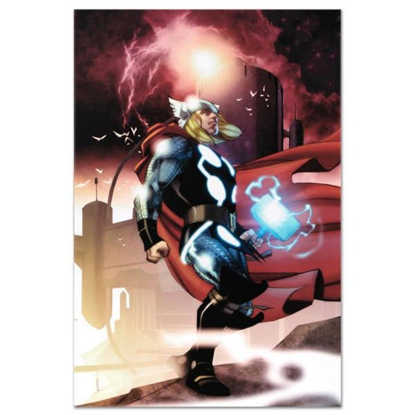 "Marvel Comics ""Thor #615"" Numbered Limited Edition Giclee on Canvas by Joe Quesada with COA."
