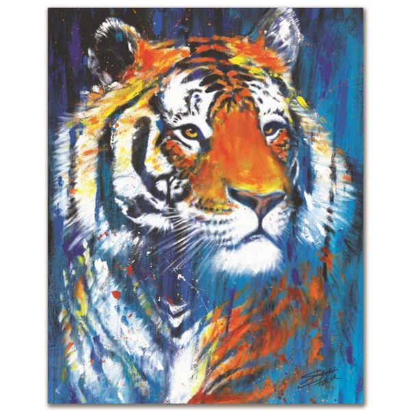 """Nala"" Limited Edition Giclee on Canvas by Stephen Fishwick, Numbered and Signed. This piece comes G"