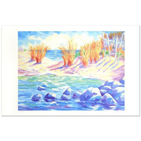 "Adam -""La Playa Arenosa"" Limited Edition Lithograph, Numbered and Hand Signed."