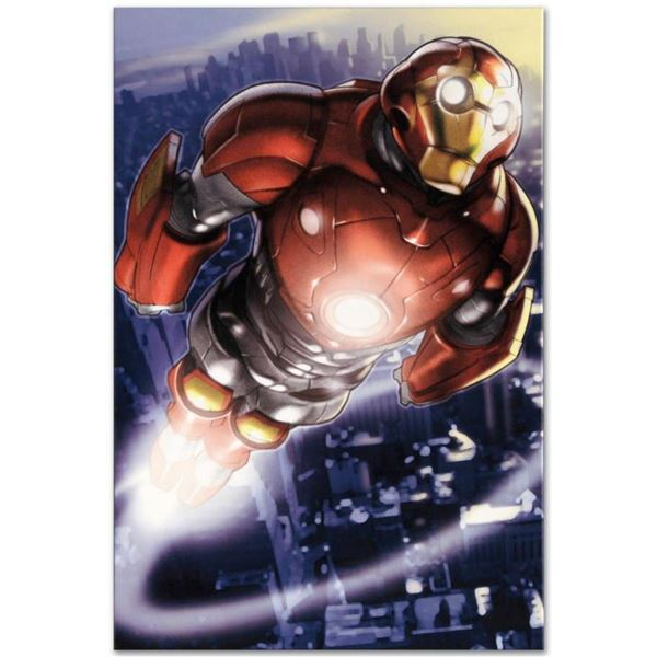 "Marvel Comics ""Ultimate Iron Man II #3"" Numbered Limited Edition Giclee on Canvas by Pasqual Ferry w"