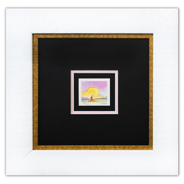 "Peter Max- Original Lithograph ""Sailboat on the Horizon (Mini Series)"""