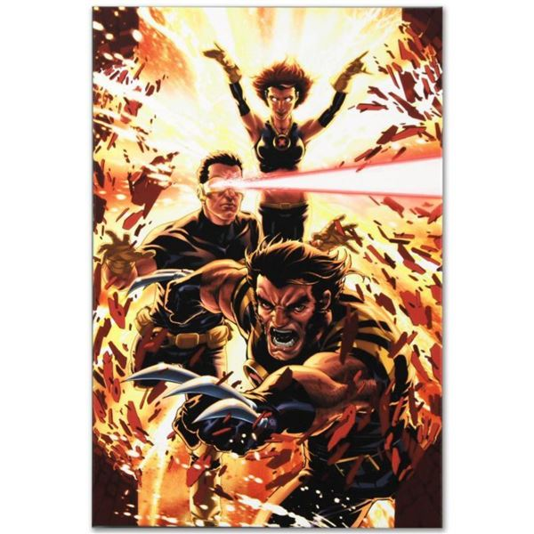 "Marvel Comics ""Ultimatum: X-Men Requiem #1"" Numbered Limited Edition Giclee on Canvas by Mark Brooks"