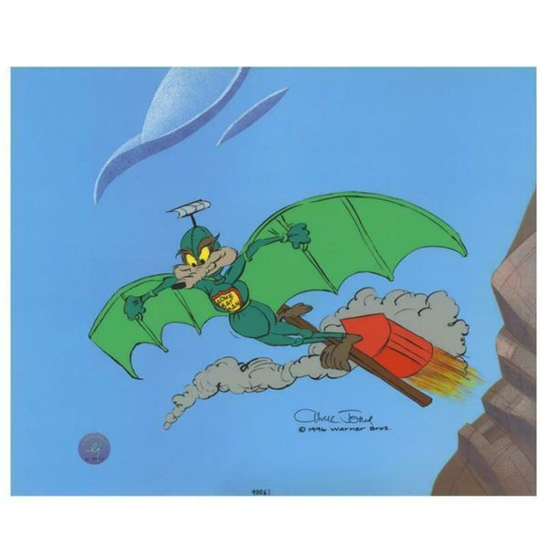 "Chuck Jones ""Acme Splatman"" Hand Signed, Hand Painted Limited Edition Sericel."