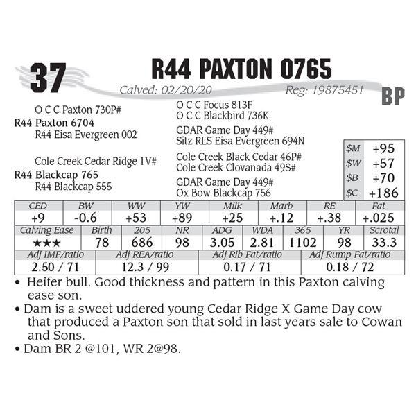 R44 Paxton 0765