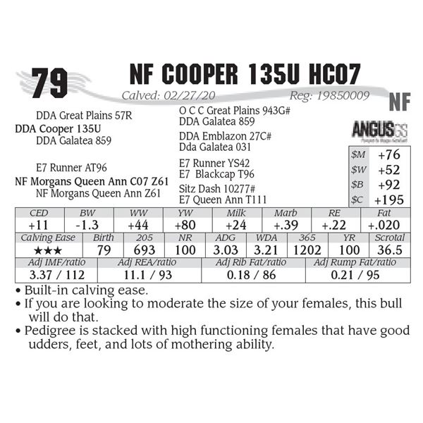 NF Cooper 135U HC07