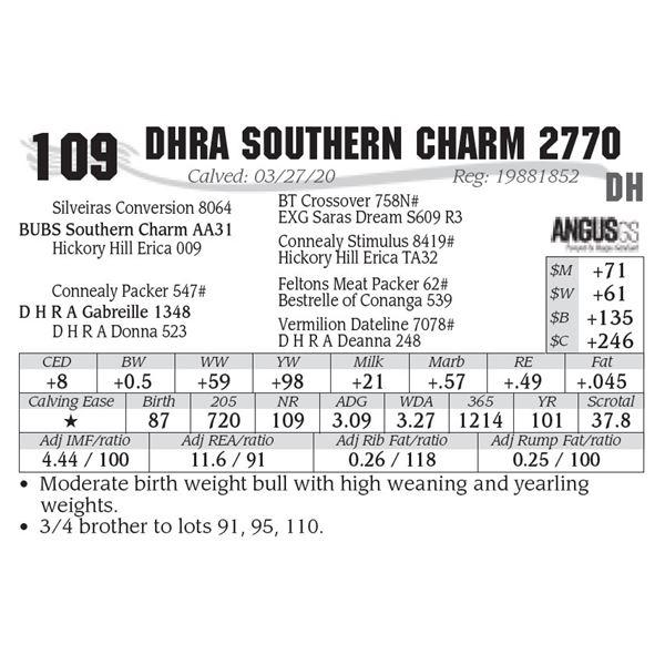 DHRA Southern Charm 2770