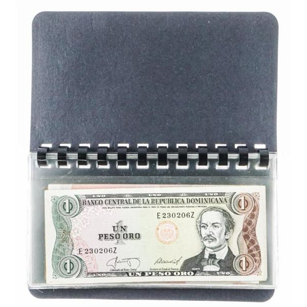 Currency Album UNC World Notes