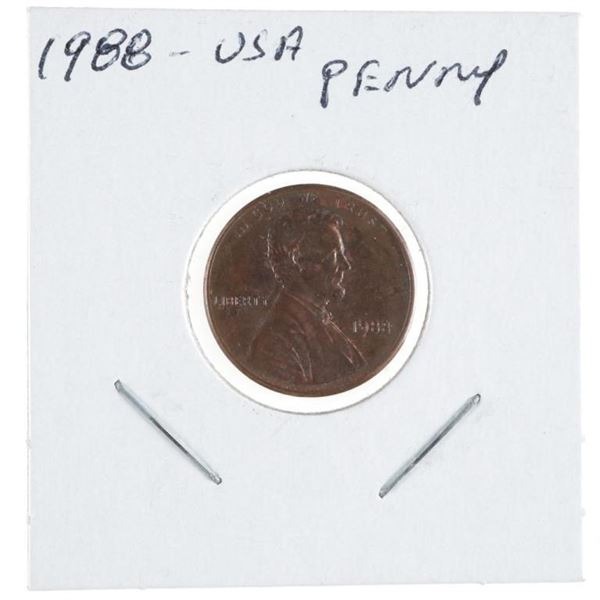 1988 USA Lincoln Cent MS66