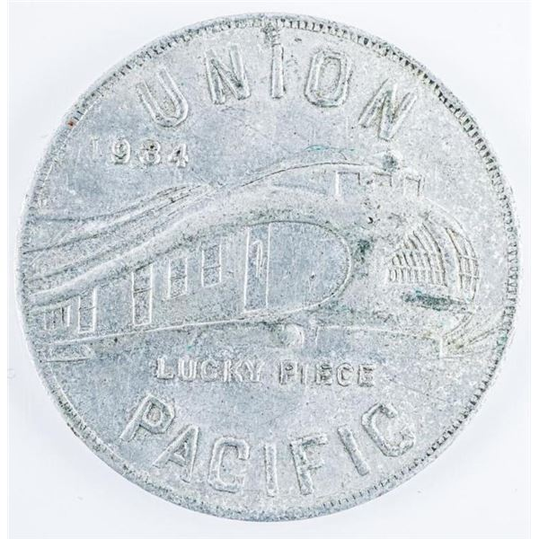 1934 Union Pacific Lucky Piece Coin