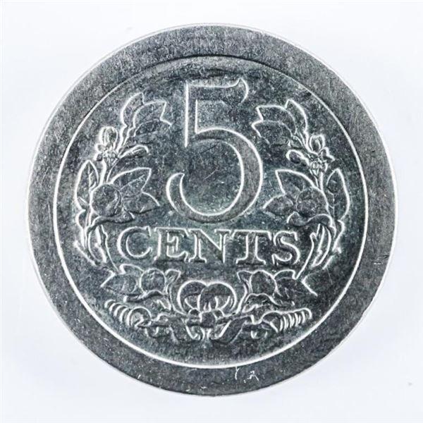 Netherlands 5 Cents KM137