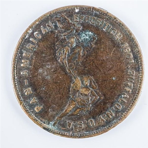 USA Medal Pan-American Exposition 1901