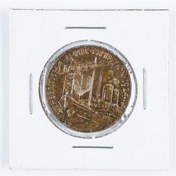 British Medallion, 1924 British Empire  Exhibition