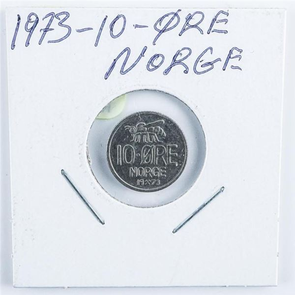 1973 Norge - 10 Ore