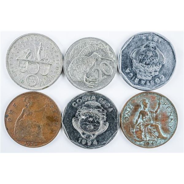 Lot - Coins of Costa Rica